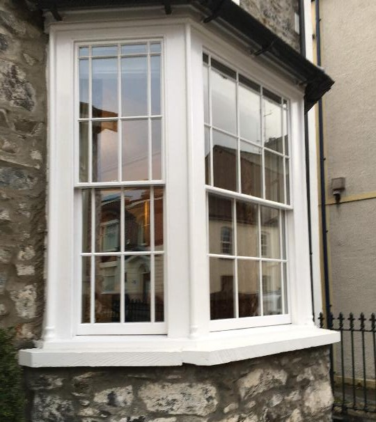 Can i double glaze my old sash windows