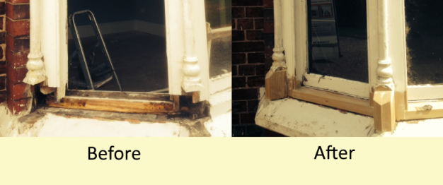 picture of a box Sash Window Restoration